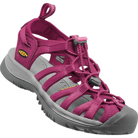 Keen Whisper Sandales Femme, beet red/honeysuckle